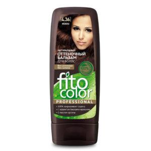 Фитокосметик Fito color Бальзам оттеночный натуральный для волос, тон 4.36 мокко, 140 мл 11
