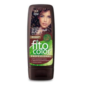 Фитокосметик Fito color Бальзам оттеночный натуральный для волос, тон 3.0 тёмный каштан, 140 мл 12