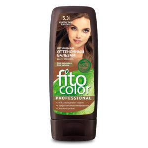 Фитокосметик Fito color Бальзам оттеночный натуральный для волос, тон 5.3 золотистый каштан, 140 мл 3