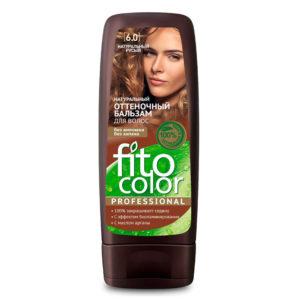 Фитокосметик Fito color Бальзам оттеночный натуральный для волос, тон 6.0 натуральный русый, 140 мл 5