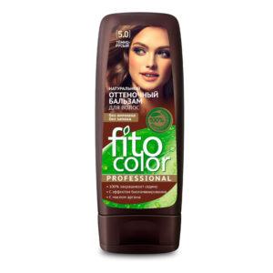 Фитокосметик Fito Color Бальзам оттеночный натуральный для волос, тон 5.0 тёмно-русый, 140 мл 12