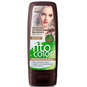 Фитокосметик Fito color Бальзам оттеночный натуральный для волос, тон 9.1 пепельный блондин, 140 мл 5