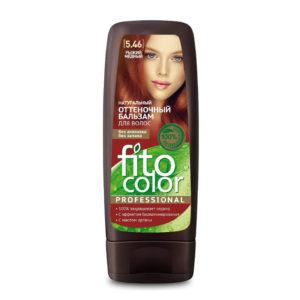 Фитокосметик Fito color Бальзам оттеночный натуральный для волос, тон 5.46 рыжий медный, 140 мл 2