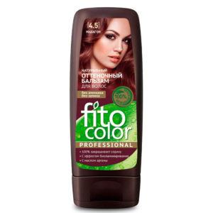 Фитокосметик Fito color Бальзам оттеночный натуральный для волос, тон 4.5 махагон, 140 мл 13