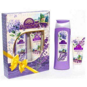 Festiva подарочный для женщин Provance Lavande (шампунь 250 мл + крем для рук 75 мл) 4