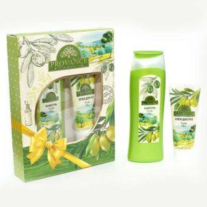 Festiva подарочный для женщин Provance Olive (шампунь 250 мл + крем для рук 75 мл) 11