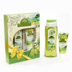 Festiva подарочный для женщин Provance Olive (гель для душа 250 мл + крем для рук 75 мл) 4