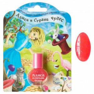 Алиса Лак для ногтей с блёстками для девочек Весёлое чаепитие Nail Lacquer, 5 мл 3