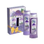 Набор подарочный для женщин Provance Lavande mini (шампунь 250 мл + гель для душа 250 мл) 2
