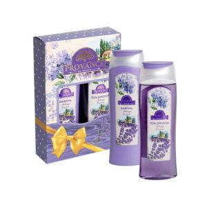 Набор подарочный для женщин Provance Lavande mini (шампунь 250 мл + гель для душа 250 мл) 10