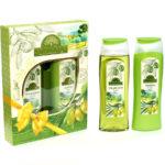 Набор подарочный для женщин Provance Olive mini (шампунь 250 мл + гель для душа 250 мл) 1