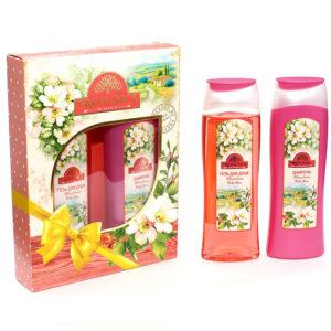 Набор подарочный для женщин Provance Wild Rose mini (шампунь 250 мл + гель для душа 250 мл) 4