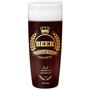 """Beer cosmetics Мужской гель-шампунь с экстрактом ячменного солода """" Тёмный Портер"""", 400 мл 2"""