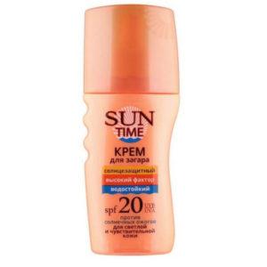 Биокон Спрей-крем для безопасного загара Sun Time SPF 20, 150 мл 61