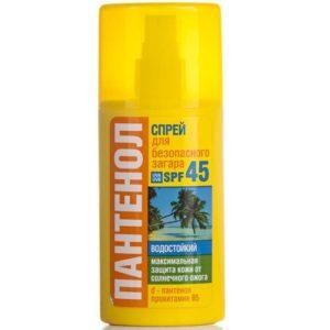 Биокон Спрей для безопасного загара с пантенолом SPF 45, 95 мл 76