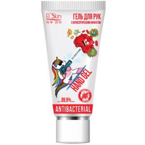 El'skin Гель для рук с антибактериальным эффектом экстразащита, 50 мл 3