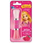 Принцесса Блеск двойной детский для губ Малина со сливками с маслом ши, УФ-фильтр, 2 х 5 мл 1