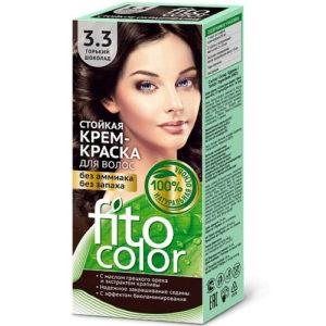 Fito косметик Крем-краска стойкая для волос цвет горький шоколад, 125 мл 5
