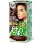 Fito косметик Крем-краска стойкая для волос цвет мокко, 125 мл 1