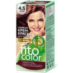 Fito косметик Крем-краска стойкая для волос цвет махагон, 125 мл 1