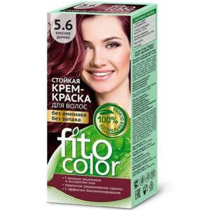 Fito косметик Крем-краска стойкая для волос цвет красное дерево, 125 мл 93