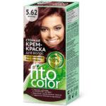 Fito косметик Крем-краска стойкая для волос цвет бургунд, 125 мл 2