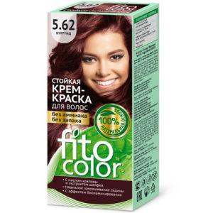 Fito косметик Крем-краска стойкая для волос цвет бургунд, 125 мл 6