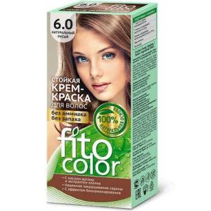 Fito косметик Крем-краска стойкая для волос цвет натуральный русый, 125 мл 4