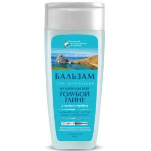Российский институт красоты и здоровья Бальзам натуральный на байкальской голубой глине для всех типо волос, 270 мл 49