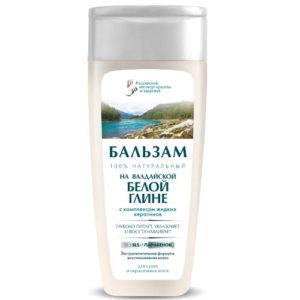 Российский институт красоты и здоровья Бальзам натуральный на валдайской белой глине для сухих и окрашенных волос, 270 мл 50