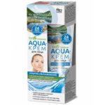Народные рецепты Aqua-крем для лица ультра-увлажнение для сухой и чувствительной кожи, 45 мл 2