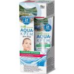 Народные рецепты Aqua-крем для лица для сухой и чувствительной кожи, 45 мл 2