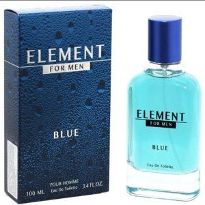 Festiva Туалетная вода для мужчин Element Blue, 100 мл 3