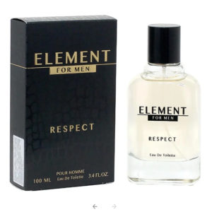 Festiva Туалетная вода для мужчин Element Respect, 100 мл 6