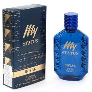 Festiva Туалетная вода для мужчин My Status Royal, 100 мл 10