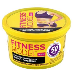 Fitness Model Обёртывание горячее для тела экспресс-похудение, 250 мл 2