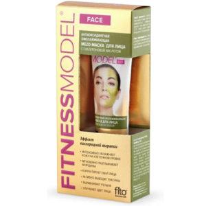 Fitness Model Mezo-маска для лица антиоксидантная омолаживающая с гиалуроновой кислотой, 45 мл 1