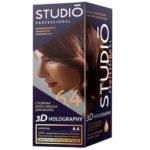 Studio Professional Крем-краска стойкая для волос 3D Holography тон 6.4 шоколад, 40/60/15 мл 2