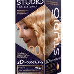 Studio Professional Крем-краска стойкая для волос 3D Holography тон 90.03 шампань, 40/60/15 мл 1