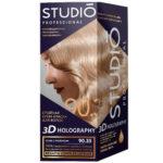 Studio Professional Крем-краска стойкая для волос 3D Holography тон 90.35 кофе с молоком, 40/60/15 мл 1