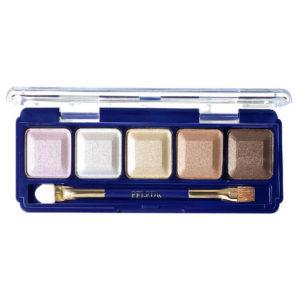 Ffleur Тени для век компактные 5-цв Eyeshadow, E155 mix E Light Brown, тон 140, 13.5 г 77