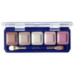 Ffleur Тени для век компактные 5-цв Eyeshadow, E155 mix G Pink Violet, тон 055, 13.5 г 1