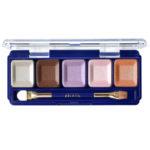 Ffleur Тени для в век компактные 5-цв Eyeshadow, E155 mix G Pink Violet, тон 141, 13.5 г 1
