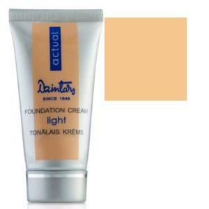 Dzintars Actual Тональный крем Light Foundation Cream тон 02 натуральный, 30 мл 4