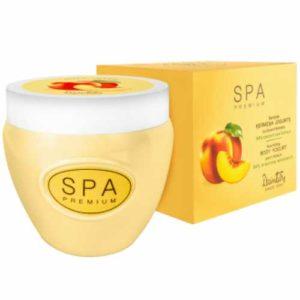 Dzintars SPA Premium Йогурт для тела питательный сочный персик, 200 мл 4