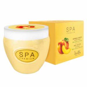 Dzintars SPA Premium Масло твёрдое для тела сочный персик, 200 мл 5