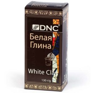 DNC Глина косметическая для лица белая, 130 г 2