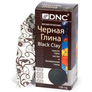 DNC Глина косметическая для лица чёрная Black Clay, 130 г 24