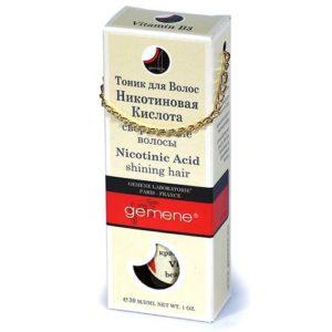 DNC Gemene Тоник с никотиновой кислотой для волос, 30 мл 5