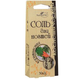 DNC Соль косметическая для ногтей Кератиновая Cosmetic Salt For Nails, 30 г 40